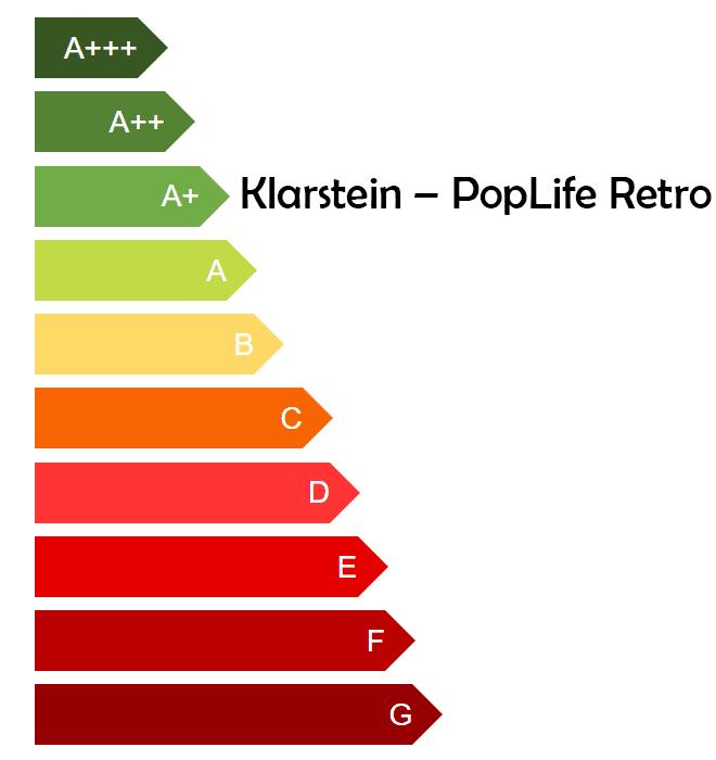 Effizienzklasse-Klarstein-PopLife-Retro-Getränkekühlschrank