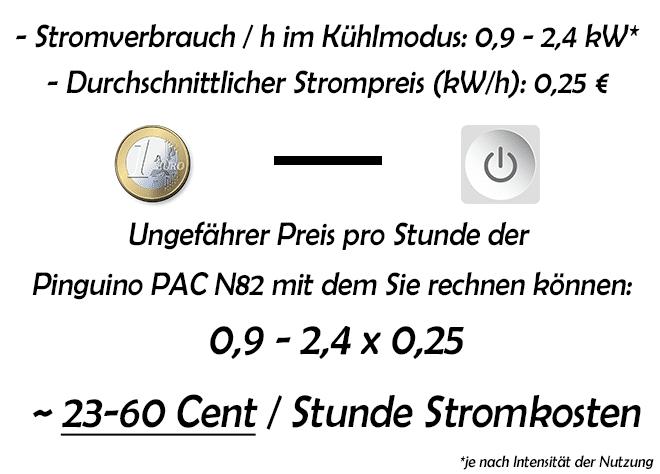 Stromverbrauch-und-Stromkosten-pro-Stunde-De'Longhi-–-Pinguino-PAC-N82-Eco-Silent